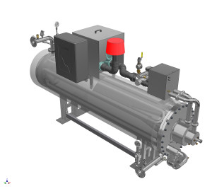 Hot water generator – closed loop