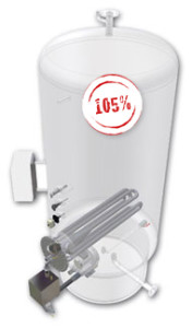 6 bar hot water tank